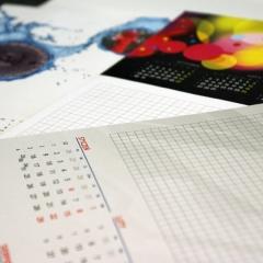 kalendarz na biurko pad drukarnia APS Gdansk