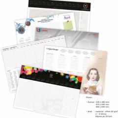 kalendarze na biurko planer APS Gdansk