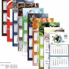 kalendarze trojdzielne Drukarnia APS
