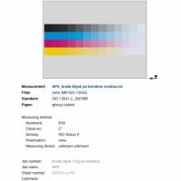 drukarnia posiada skalibrowany tor druku zgodnie z normą ISO 12647-2